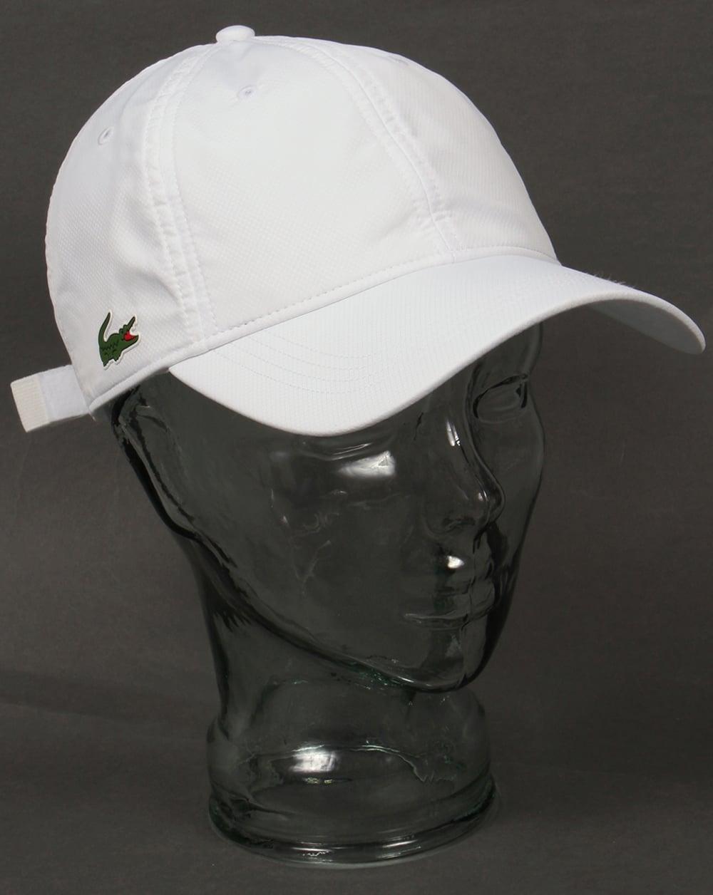 958cb40fb6c1 Lacoste Sport Cap White,baseball,mens
