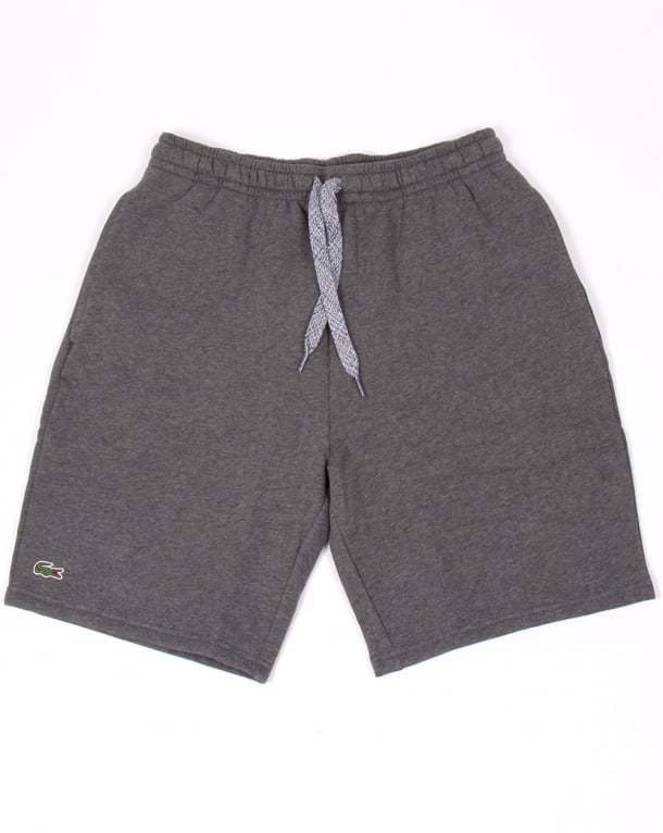 Lacoste Sport Cotton Fleece Shorts Dark Grey