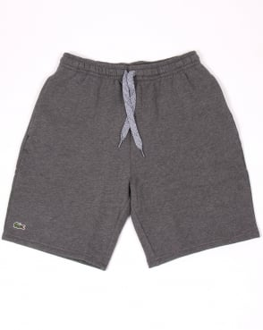 Lacoste Sport Cotton Fleece Shorts Dark Grey