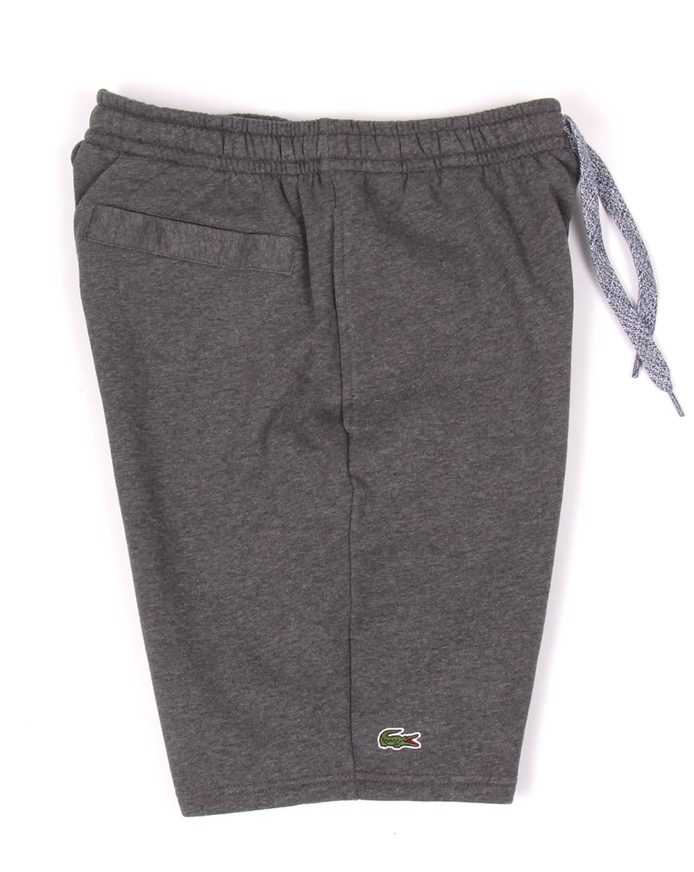 aca0a9d90de266 Lacoste Sport Cotton Fleece Shorts Dark Grey