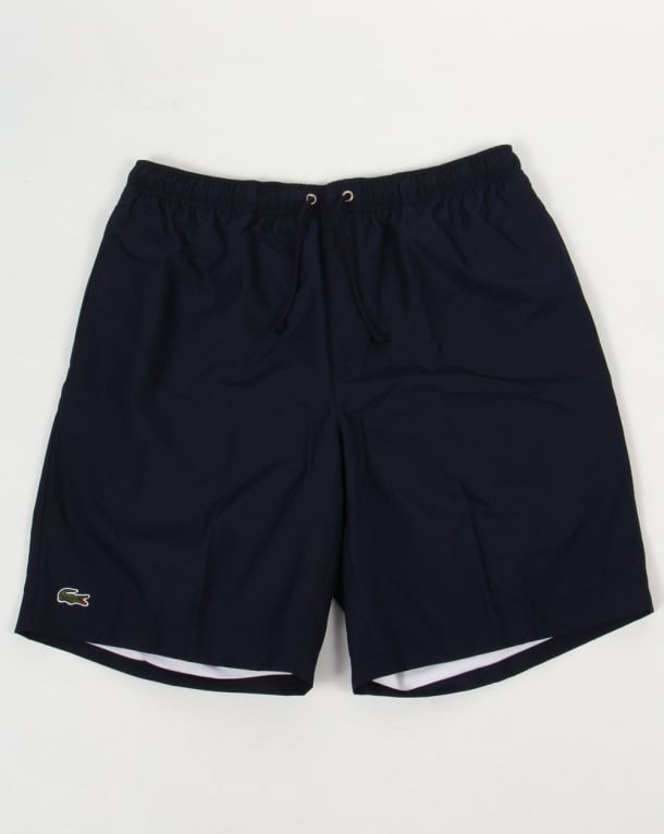 Lacoste Sport Diamond Drawstring Shorts Navy