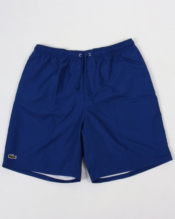 Lacoste Sport Diamond Drawstring Shorts Royal Blue
