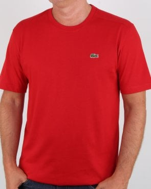 Lacoste SPT T-shirt Red