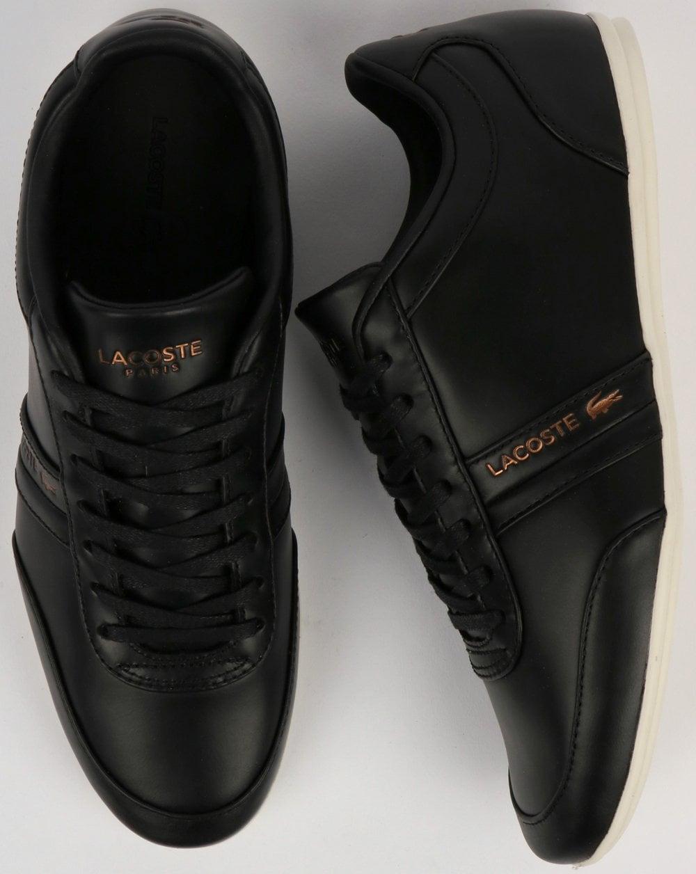 15258f91fd211 Lacoste Storda Trainer Black Off White