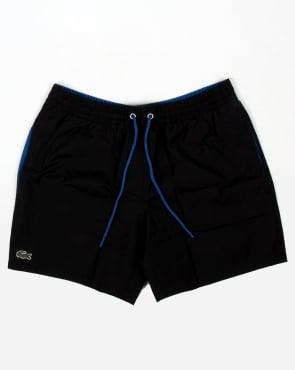 Lacoste Swim Shorts Black/sapphire