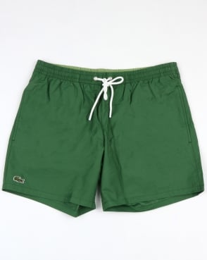 Lacoste Swim Shorts Green/Light Green