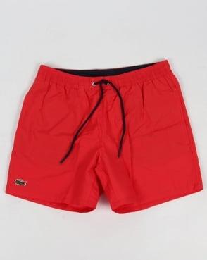 Lacoste Swim Shorts Grenadine Red