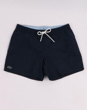 6ee3c57925d Lacoste Block Stripe Swim Shorts Navy/Blue/White,beach,swimmers,mens