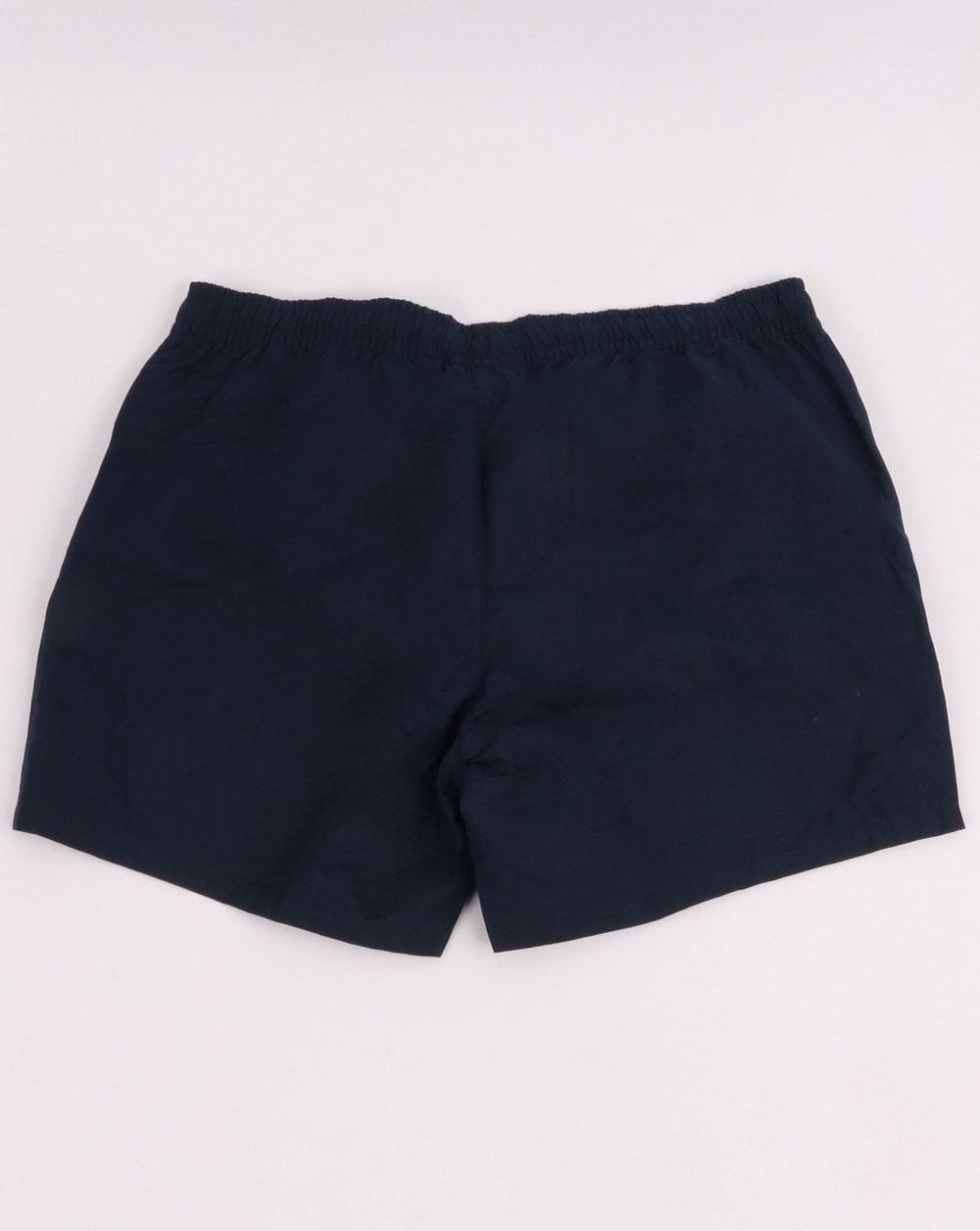 fd94e23debf14 Lacoste Swim Shorts in Navy | 80s Casual Classics