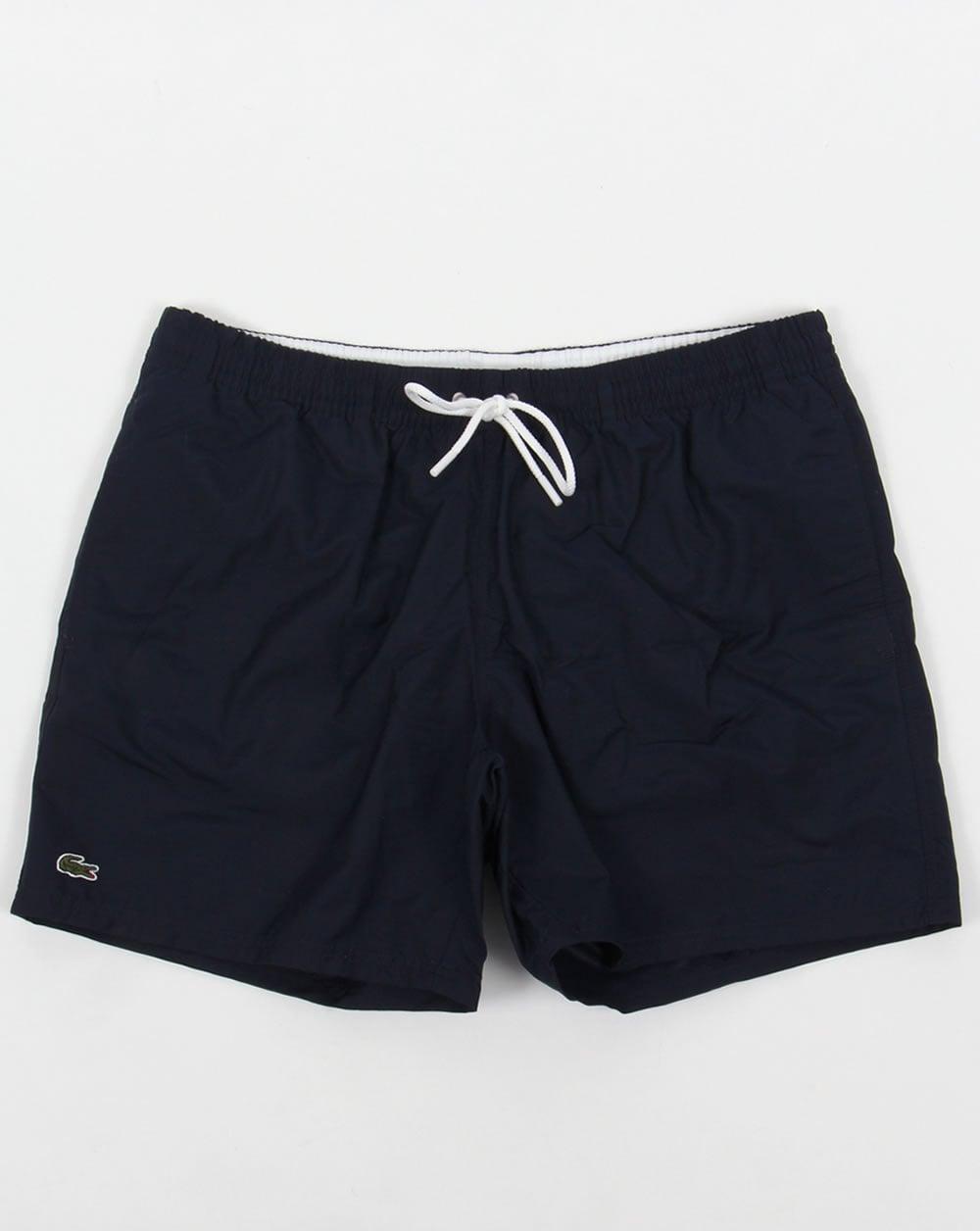 eca0221d94de Lacoste Lacoste Swim Shorts Navy