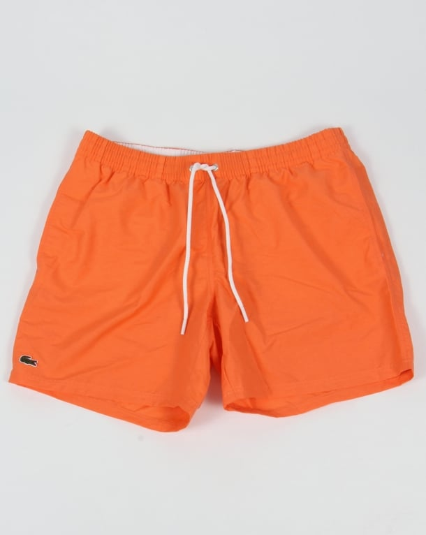 Lacoste Swim Shorts Orange