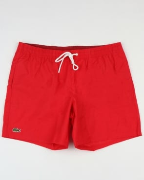 Lacoste Swim Shorts Toreador/Turkey Red