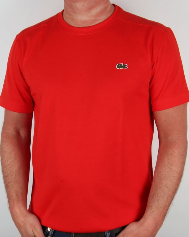 Lacoste T-shirt Cochineal Red