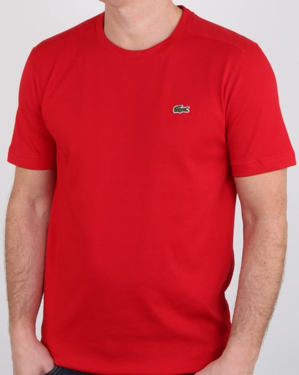 Lacoste T-shirt Red