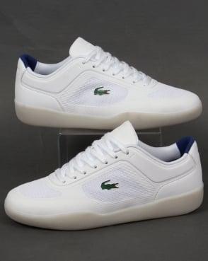 Lacoste Footwear Lacoste Tramline SPM Trainers White/Navy
