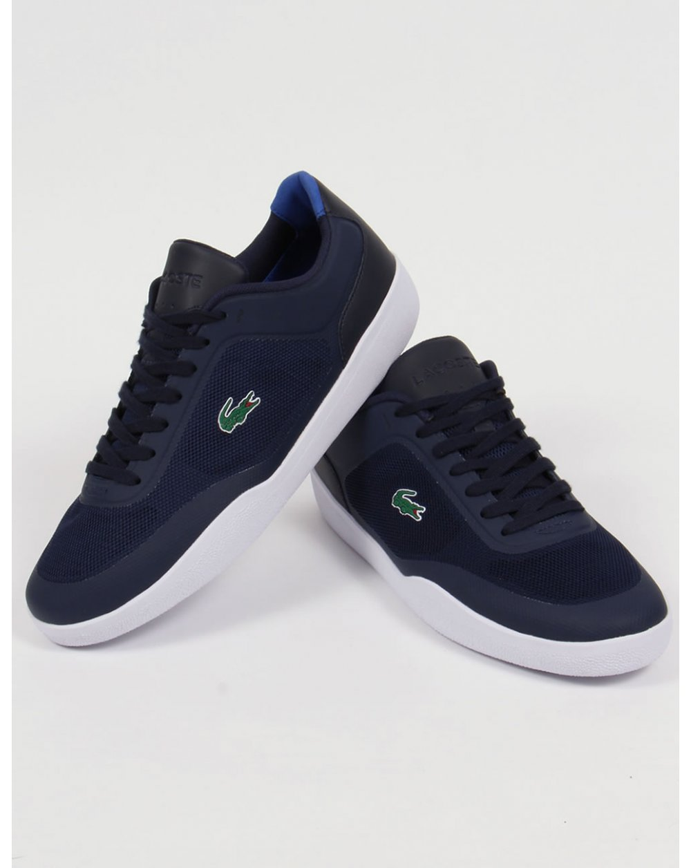 Lacoste Tramline Trainers Navy/white