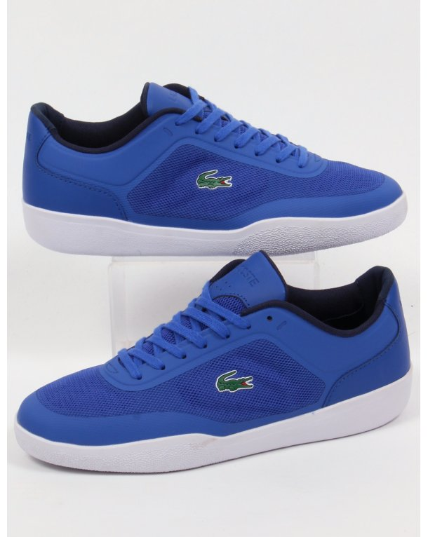 Lacoste Tramline Trainers Royal Blue/white