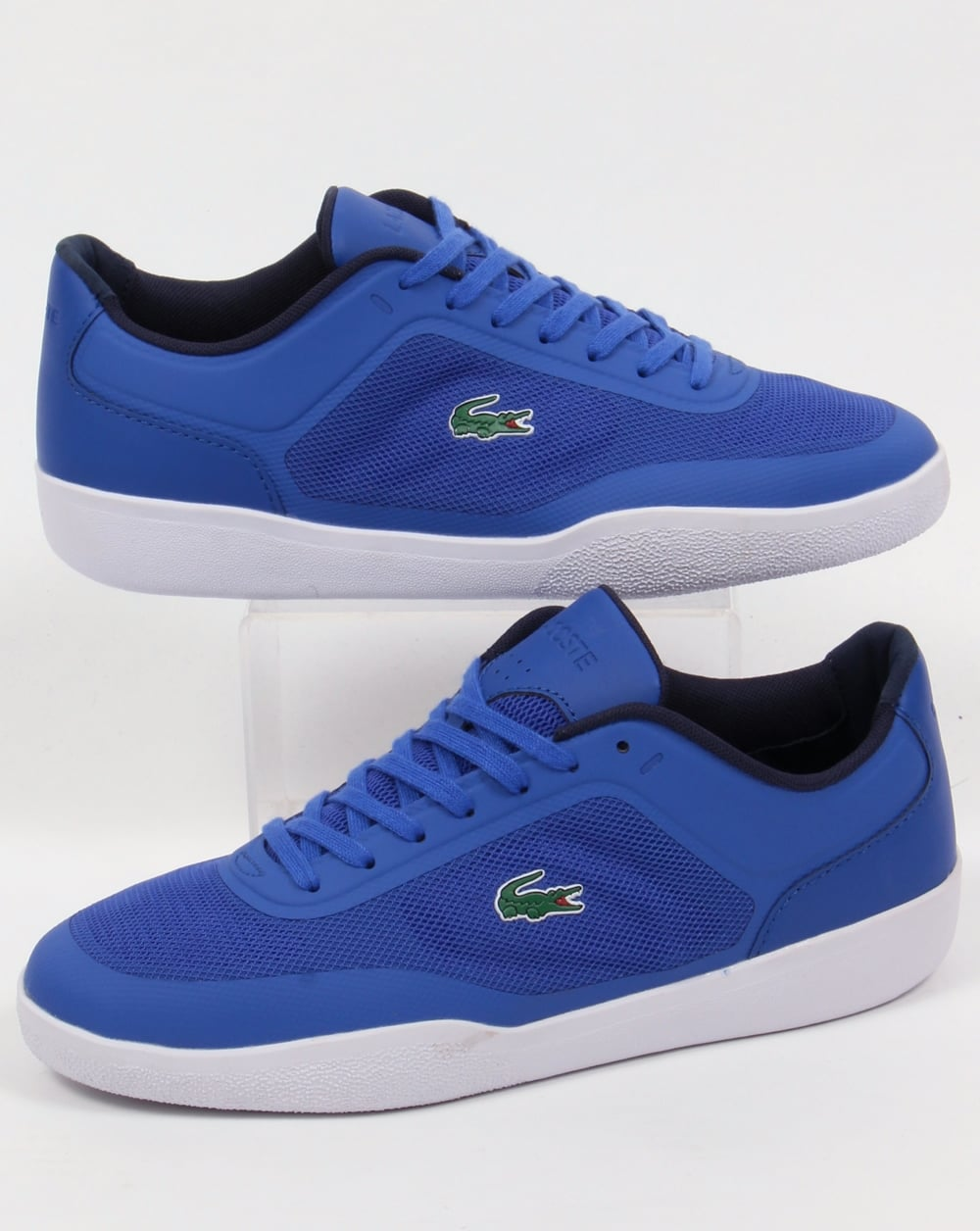 Lacoste Tramline Trainers Royal Blue/White,shoes,sneakers,mens