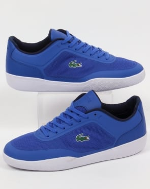 Lacoste Footwear Lacoste Tramline Trainers Royal Blue/White
