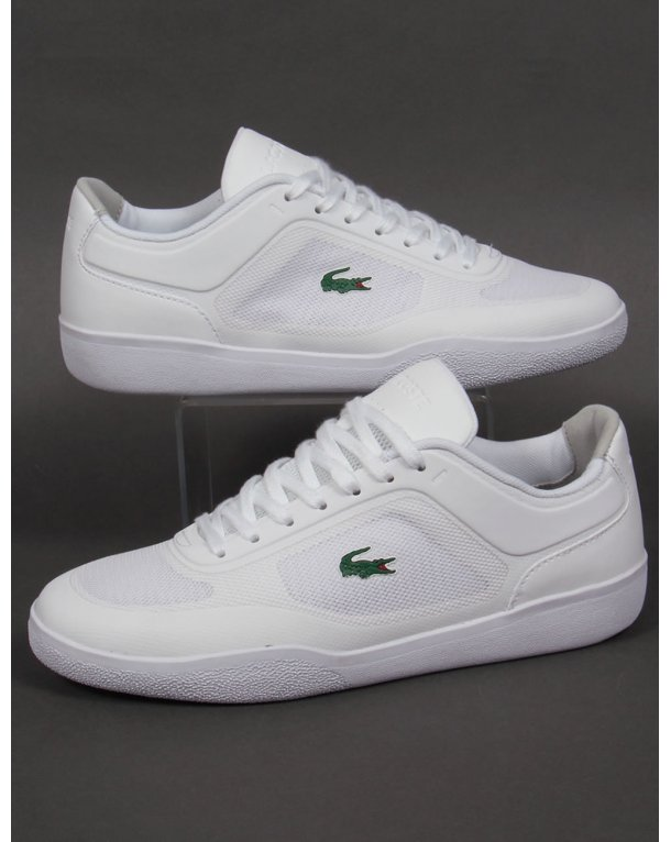 Lacoste Tramline Trainers White