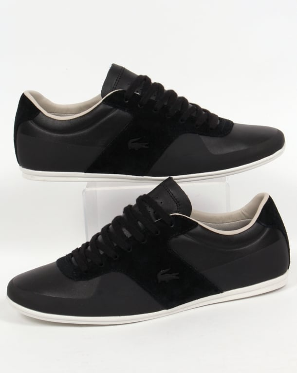 Lacoste Turnier Trainers Black