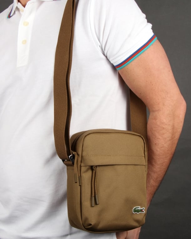 Lacoste Vertical Camera Bag Plantation Men S