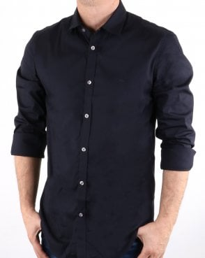Lacoste Woven Shirt Navy