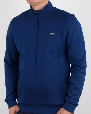 Lacoste Zip Up Track Top Marino