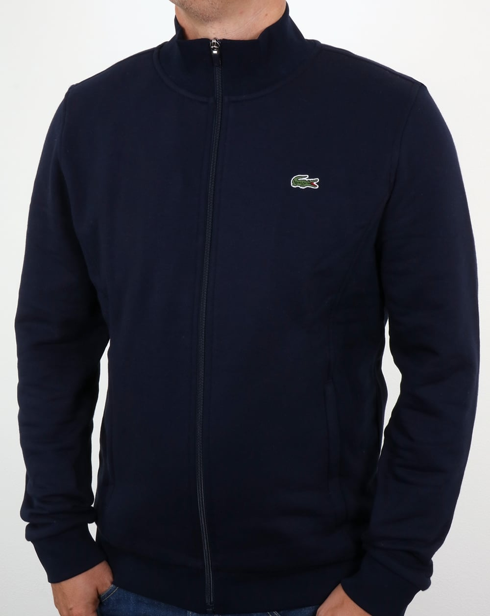 78d65fd48d6f Lacoste Lacoste Zip Up Track Top Navy