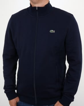 Lacoste Zip Up Track Top Navy
