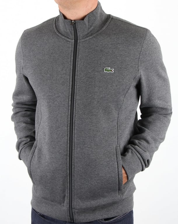 Lacoste Zip Up Track Top Pitch