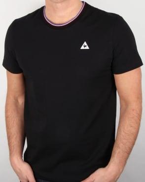 Le Coq Sportif Anglin T Shirt Black