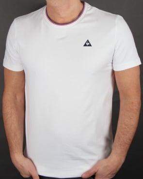 Le Coq Sportif Anglin T Shirt White