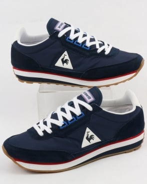Le Coq Sportif Azstyle Trainers Navy/red