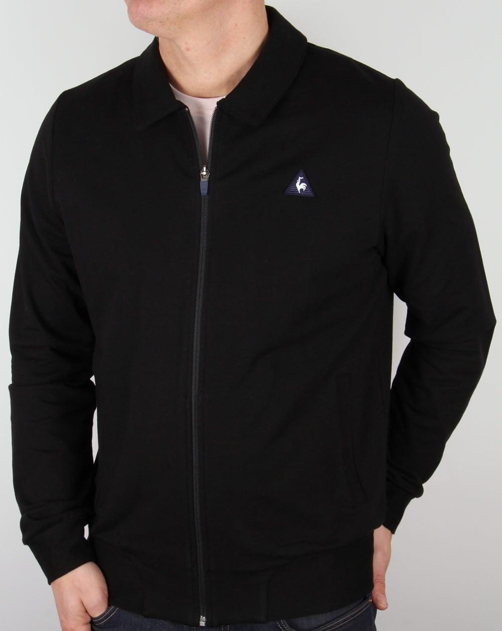 49e6b88d63 Le Coq Sportif Ciodo Track Top Black,jacket,tracksuit,mens