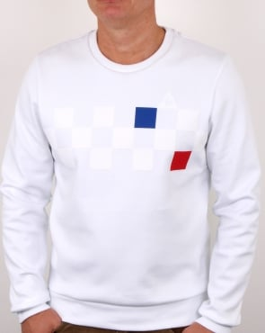 Le Coq Sportif Cycling Sweatshirt White