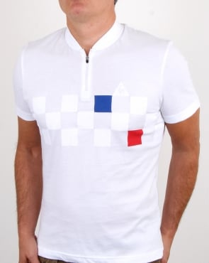 Le Coq Sportif Cycling T Shirt White