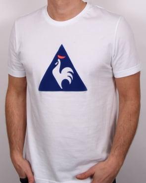 Le Coq Sportif Essentiels Logo T Shirt White