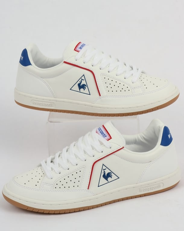 4b32152f6335 Le Coq Sportif Icons Lea Sport Gum Trainers White