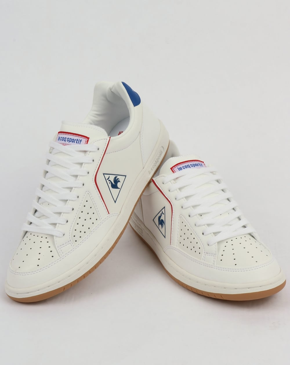 Le Coq Sportif Icons Lea Sport Gum Trainers White
