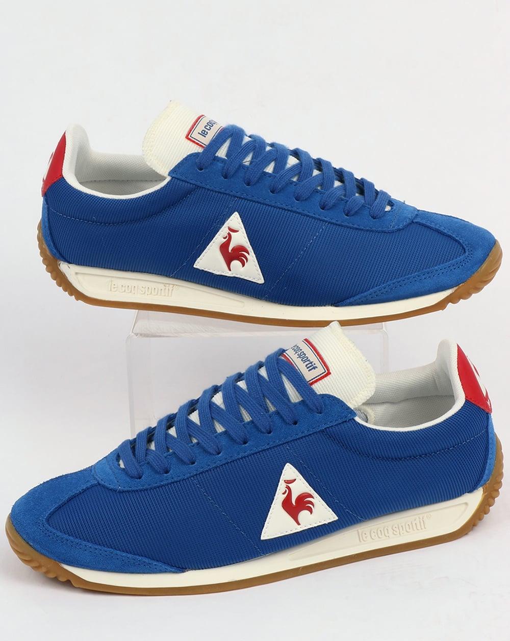 le coq sportif quartz gum trainers royal blue shoes. Black Bedroom Furniture Sets. Home Design Ideas