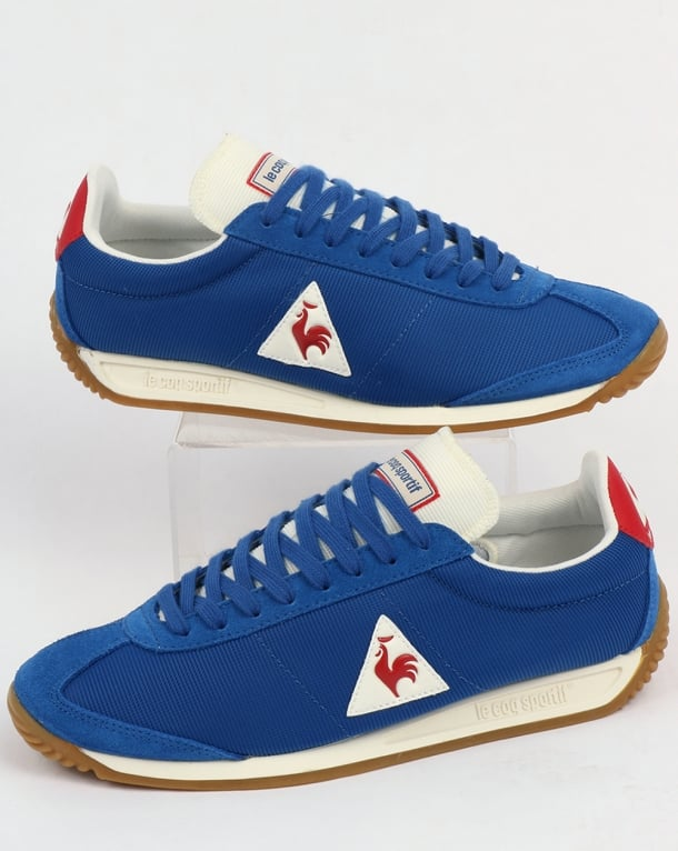 e9be8e4a9e3b Le Coq Sportif Quartz Gum Trainers Royal Blue