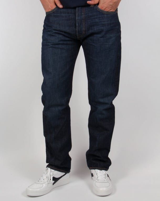 Levis 501 Jeans in a one wash