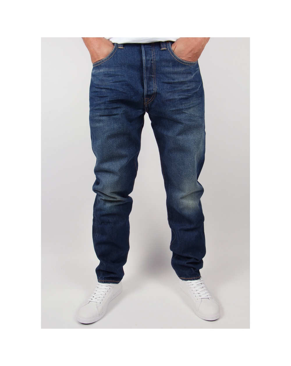 levis 501ct tapered jeans dalston denim mens slim. Black Bedroom Furniture Sets. Home Design Ideas