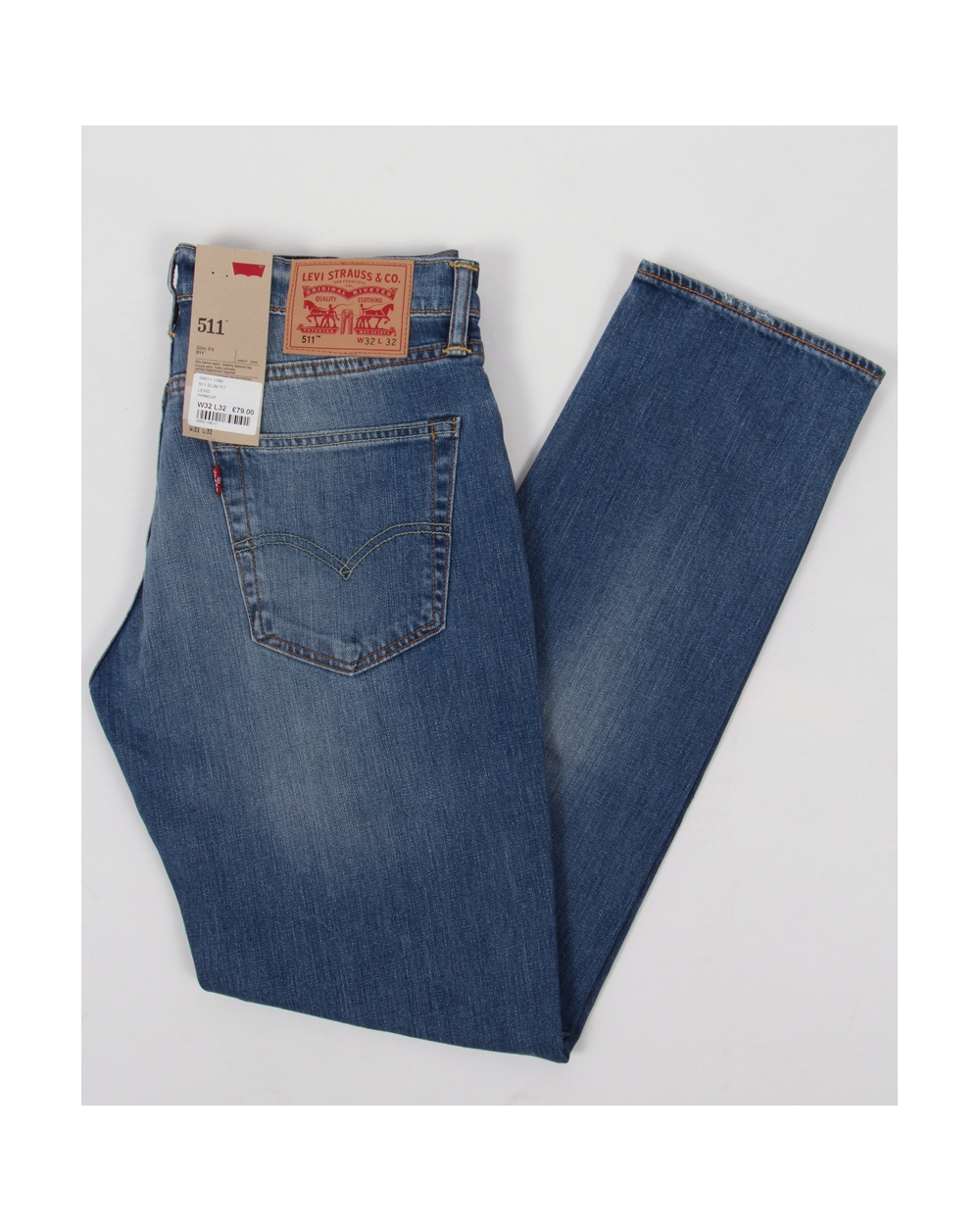 d809dc09988 Levis 511 Slim Fit Jeans Harbour