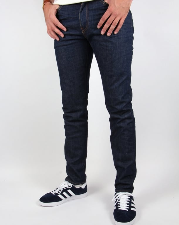 Levis 512 Slim Taper Fit Jeans Broken Raw