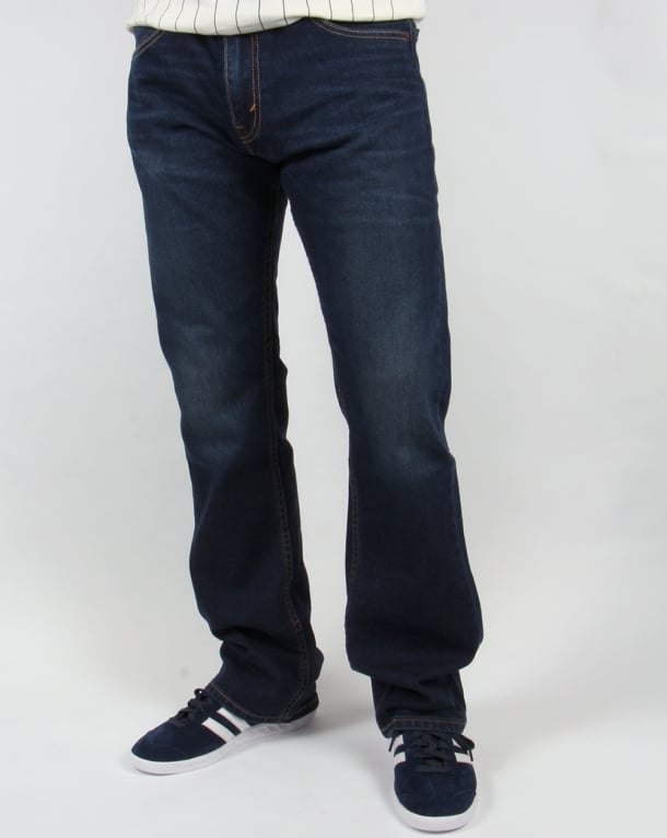 Levis 527 Slim Boot Cut Jeans California Dark Wash