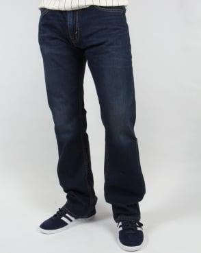Levi's Levis 527 Slim Boot Cut Jeans California Dark Wash