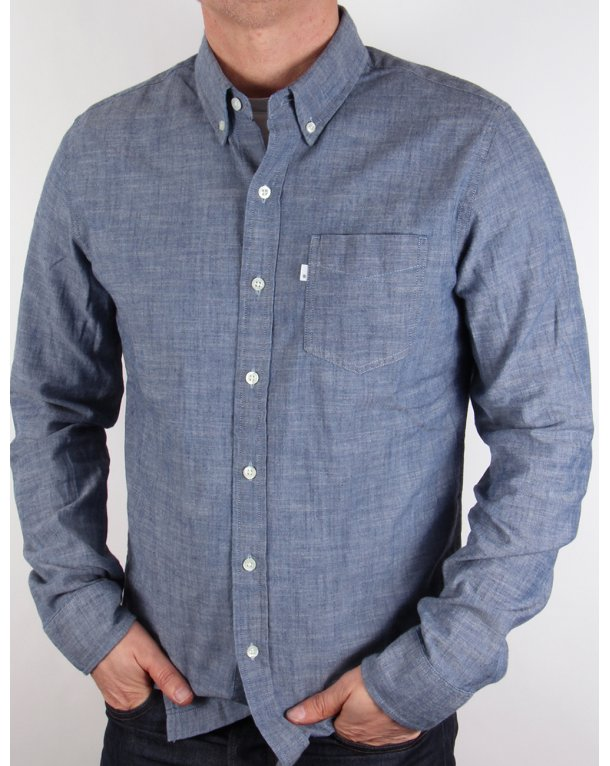 Levis Classic One Pocket Shirt Indigo