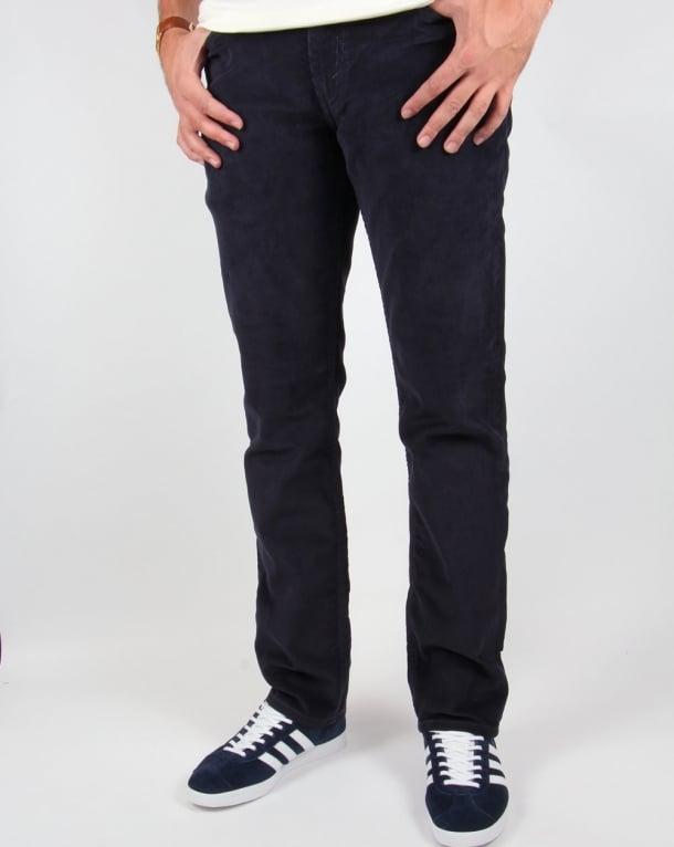 Levis Cords 511 Slim Fit Navy Blue